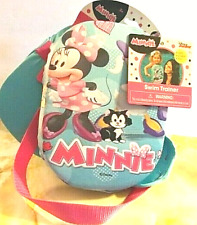 Disney Junior Minnie Mouse Daisy Duck Swim Trainer Adjustable Strap Ages 3+ Nwt