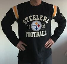 NFL Pittsburgh Steelers Men's Lateral Long Sleeve Tee by Old Time Football