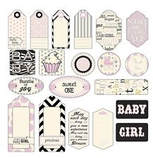 Canvas Corp Baby Girl Tags 20 Tags