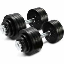 💥Yes4All 105 lbs ( 2 x 52.5lbs ) Pair Adjustable Dumbbells Weights Fitness💥