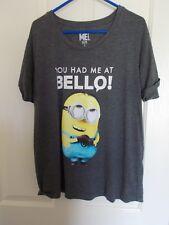 Grey Despicable Me T-Shirt, Size L