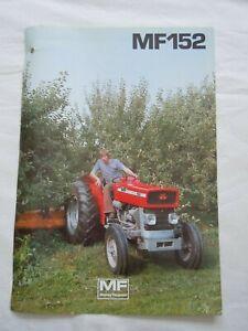 @Massey Ferguson 152 MK 111 Narrow Tractor Sales/Specification Leaflet@