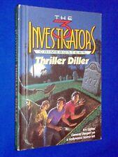 Three 3 Investigators THRILLER DILLER Hardcover Crimebusters #6 Hitchcock