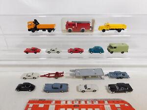 BI317-1# Konvolut Wiking H0/ 1:87 Modelle; LKW, PKW; Hebebühne; Feuerwehr etc.