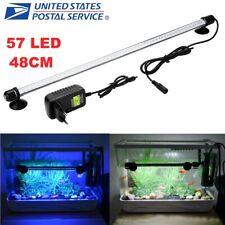 48Led 57 Led Air Bubble Curtain Submersible Light Bar for Fish Tank Aquarium Us