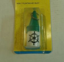 Boating Safety Water tight Key Chain Buoy Float,Green/White  78091