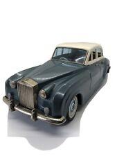 Vintage 1950s Bandai Japan Tin Litho Friction Car Rolls Royce Silver Cloud Sedan