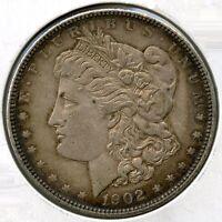 1902 Morgan Silver Dollar - Philadelphia Mint - AL399