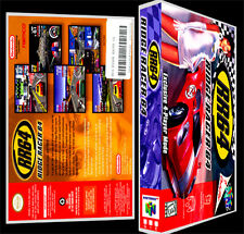Ridge Racer 64 RR64 - N64 Reproduction Art Case/Box No Game.
