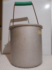 VinTaGe Tacuco Wear-Ever No.4374 1/2 4.5 qt. Aluminum Semi-Heavy Pail w/ Handle