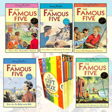 Famous Five Collection 5 Books Set By Enid Blyton Gift Wrapped Slipcase New Pack