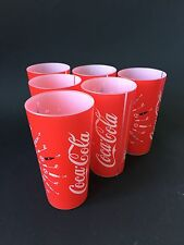 6x Coca Cola Plastik Becher Kunststoff 0,5l WM 2011 NEU OVP Bar