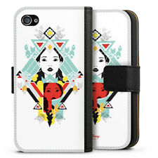 Apple iPhone 4 bolso funda flip case-Pocahontas