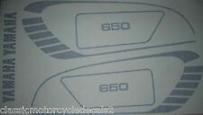 YAMAHA XS650 COMPLETE DECAL SET 5