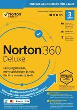 NORTON 360 Deluxe 2020 3 Geräte 3 PC/Mac/Android DE Internet Security 2019 KEY