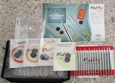 KnitPro Kp10613   Nova Metal Deluxe Interchangeable Circular Knitting Needle Set