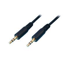 F45 stereo Audio Kabel Adapter Klinke Stecker AUX 3 5mm 5m lang