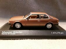 Maserati Biturbo * Copper Metallic 1982 * 1:43 Minichamps 400123500