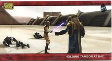 Star Wars Clone Wars Widevision Silver Stamped Parallel Base Card [500] #75