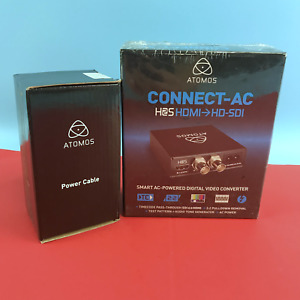 Atomos CONNECT-AC H2SHDMI?HD-SDI Digital Video Converter 50-60Hz ATOMACH001#5117