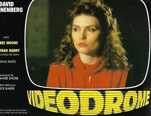 Videodrome Debbie Harry French lobby card