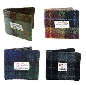 Glen Appin Harris Tweed Bi-fold Wallet LB2007 Choice of Colours