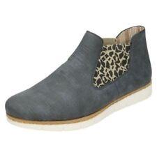 Calzado de mujer botines de leopardo