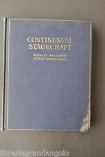 Teatro Scenografia Regia  Macgowan Jones Continental Stagecraft  New York 1922