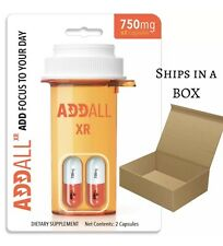 ADDALL XR BRAIN BOOST FOCUS MEMORY CONCENTRATION SUPPLEMENT 750 MG (10 count)