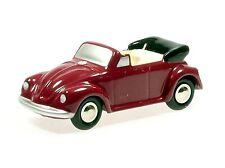 Schuco Piccolo VW Käfer Cabrio rot-beige # 501401004