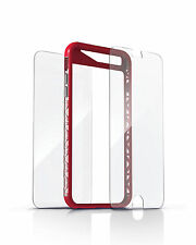 ZAGG iPhone 6s 6 Orbit Extreme Red Case Cover & invisibleSHIELD Screen Protector