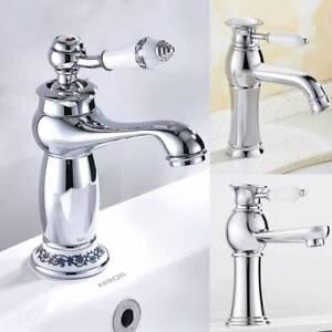 Retro Badarmatur Waschbecken Wasserhahn Mischbatteriearmatur Küchearmatur