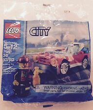 LEGO CITY SET 30221 FIREMAN & CAR WITH 36 PIECES