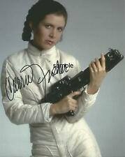 CARRIE FISHER 2 REPRINT 8X10 AUTOGRAPHED SIGNED PHOTO PICTURE STAR WARS RP