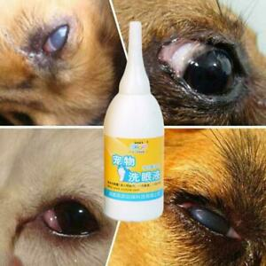 Pet Dog Cat Eye Drops Anti-Inflammatory Tear Stain Conjunctivitis Improve I3L5