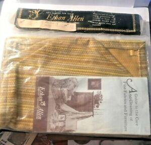 Ethan Allen Arm Sleeves set of 2 NEW! NIP!  Brochure Golds
