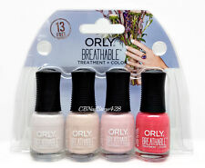 Orly Breathable Treatment Nail Lacquer mini BRIDAL kit 4colorx.18oz/5.3ml #28909