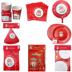 Liverpool FC Party Items Multi Listing Perfect For Parties Birthdays