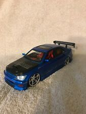 NEW Jada Lexus IS300, 2003 release, Import Racer 1/24 scale BLUE VHTF