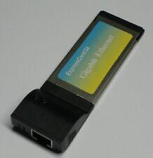 34mm Express Tarjeta Lan Adaptador 1000Mbit Gigabit #d855