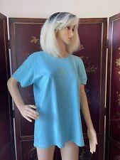 Women's Life Is Good Fish Shirt ~ Size L Large ~ Beautiful Blue Tee Great Shape!