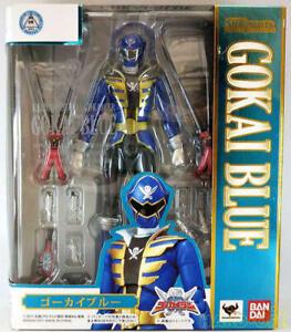 BANDAI S.H.Figuarts Kaizoku Sentai Gokaiger GOKAI BLUE Action Figure From Japan