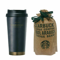 Starbucks Korea 2019 Limited SS Elma Black Heritage Tumbler 473ml