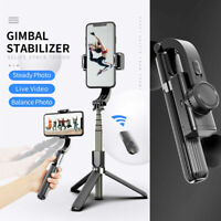 3 In 1 Gimbal Stabilizer Selfie Stick Tripod For Android/iPhone Smartphones M6B5