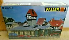 FALLER N 222135 Kit Engine Shed Duderstadt New with Instructions Sealed