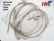 MZ Motorcycle MZ ES125 ES 125 Throttle Cable NOS GREY