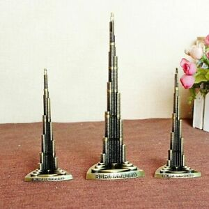New Dubai Landmark Burj Khalifa Tower Souvenir Model Replica Architecture