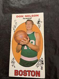 Don Nelson 1969-70 Topps Tall Boy Rookie #82 Boston Celtics Creased