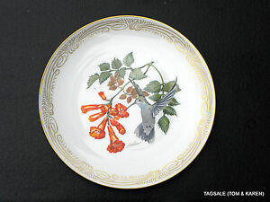 Edward Marshall Boehm Humming Bird Plate Collection BLUE THROATED HUMMINGBIRD