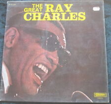 RAY CHARLES The Great Ray Charles LP Musidisc France 30 CO 1232